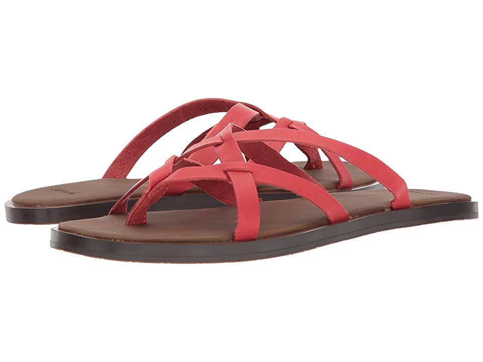 Sanuk Yoga Strappy (Tomato) Women
