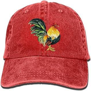 Lifelike Rooster Denim Baseball Caps Hat Adjustable Cotton Sport Strap Cap for Men Women