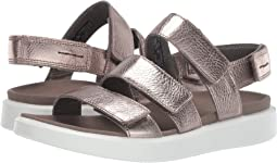 Warm Grey Metallic Cow Leather