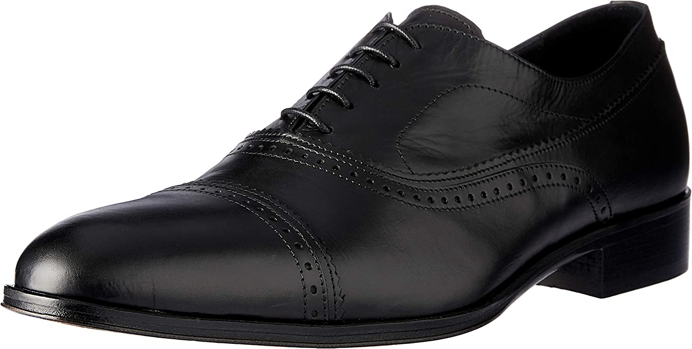 Brando Men's Orion Oxford Brogue Lace Up Shoes