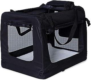 comprar comparacion dibea TB10023 - Bolsa de Transporte Plegable para Perros y Gatos, color Negro, XL, 82x58x58 cm
