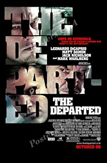 """Posters USA The Departed Movie Poster GLOSSY FINISH - MOV801 (24"""" x 36"""" (61cm x 91.5cm))"""