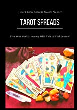Tarot Spreads - 3 Card Spread Weekly Planner: Plan Your Weekly Journey with This 52 Week Journal , Tarot of Marseilles