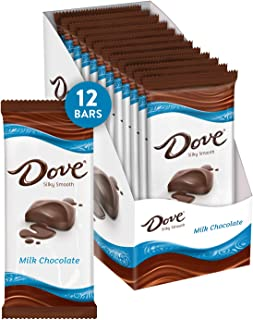 Dove Milk Chocolate Bars, 3.3 Ounce (Pack of 12)
