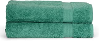 TowelSelections Sunshine Collection Soft Towels 100% Turkish Cotton 2 Bath Towels Green Spruce