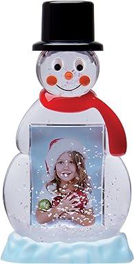 Neil Enterprises, Inc Snowman Photo Snow Globe