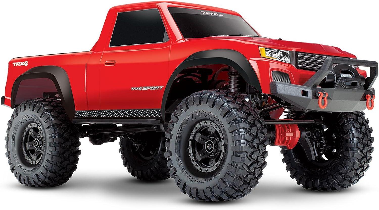 mejor vendido 1 10 Elektro Crawler TRX4 Sport rojo rojo rojo RTR  ventas en linea