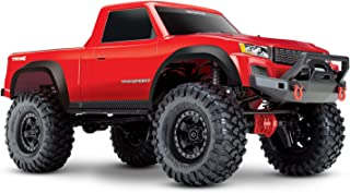 Traxxas 82024-4 TRX-4 Sport 4X4 1/10 Scale Crawler, Red