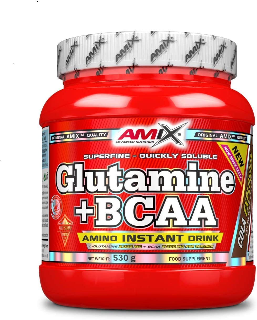 Amix Glutamina+Bcaa 530 Gr Mango 0.53 530 g