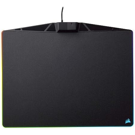 Corsair MM800 Polaris RGB Mouse Pad - 15 RGB LED Zones - USB Pass Through - High-Performance Mouse Pad Optimized for Gaming Sensors, Black