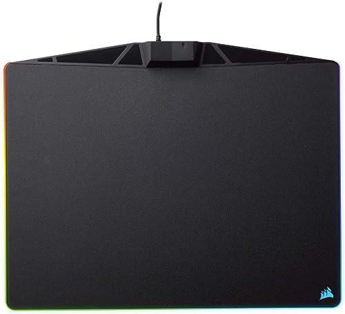 Corsair RGB Polaris Gaming Mouse Pad, Black, MM800