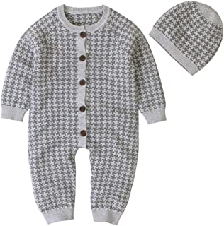 0-24 Monate Coversolate Baby Strampler Hooded mit Rei/ßverschluss Pl/üsch Karikatur B/är Unisex Warme Overall Spielanzug