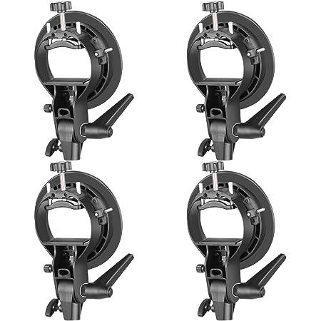 Lighting Electronics & Photo Neewer 4 Packs S-Type Bracket Holder ...