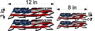 Bermuda Shorts Graphics Polaris RZR 4 Pack USA utv Logo Decal, Graphic, Sticker