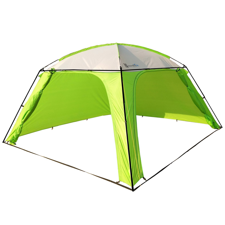 skandika Pavillon XL Outdoor/Camping - 360 x 360 cm - Altura 210 ...