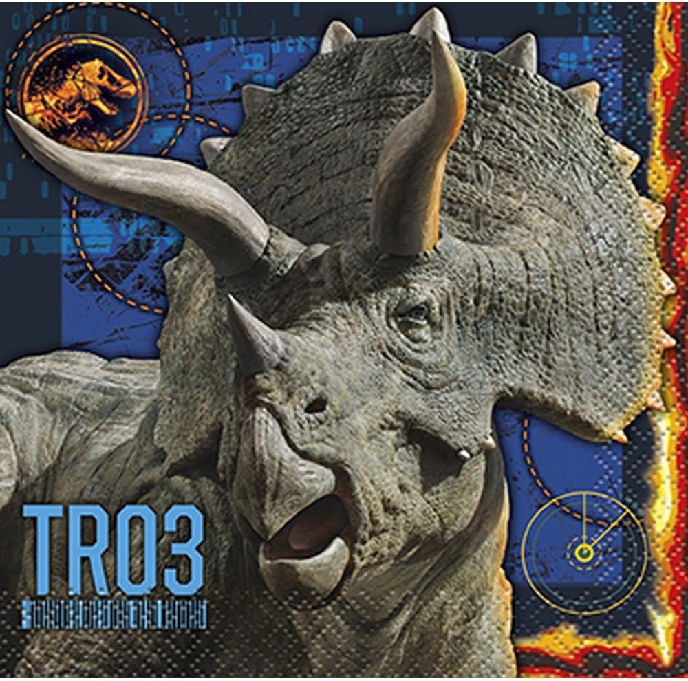Jurassic World Fallen Kingdom Birthday Party Supplies 32 Pack Be