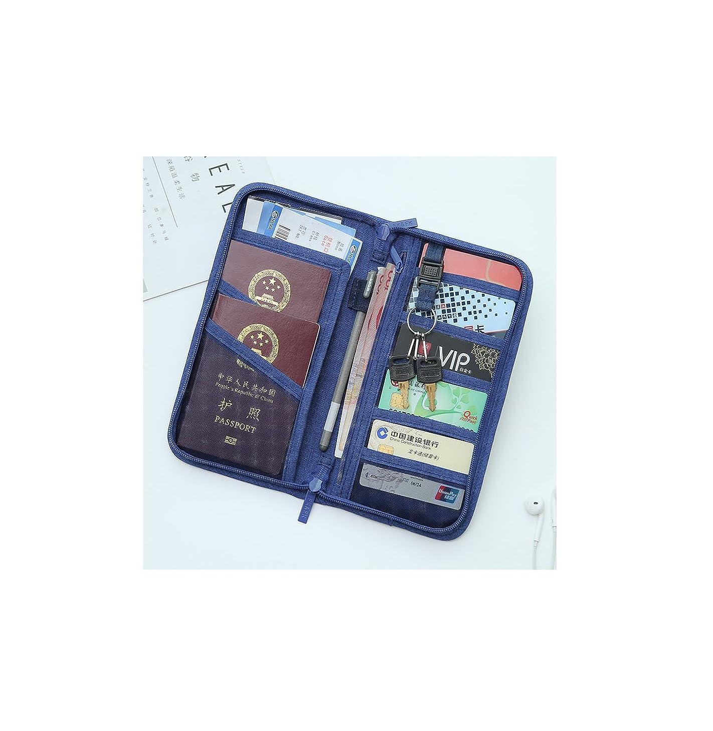 暴力とまり木上に財布ファイル保護セット書類バッグ書類保管袋多機能証明書袋