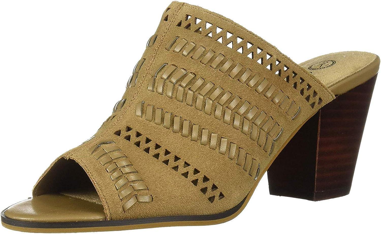 Bella Vita Women's Koraline Slide on Block Time sale Dallas Mall Mule Heel Sandal
