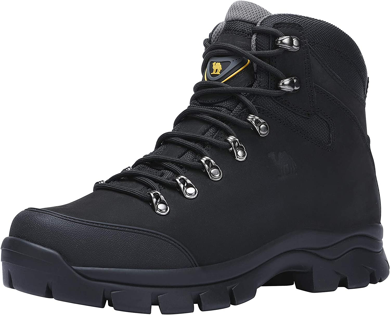 Noir Marron 41-47 Chaussures de Randonn/ée Homme Maintien Confort Respirant Trekking Alpinisme Bottes de Randonn/ée Montagne Imperm/éables