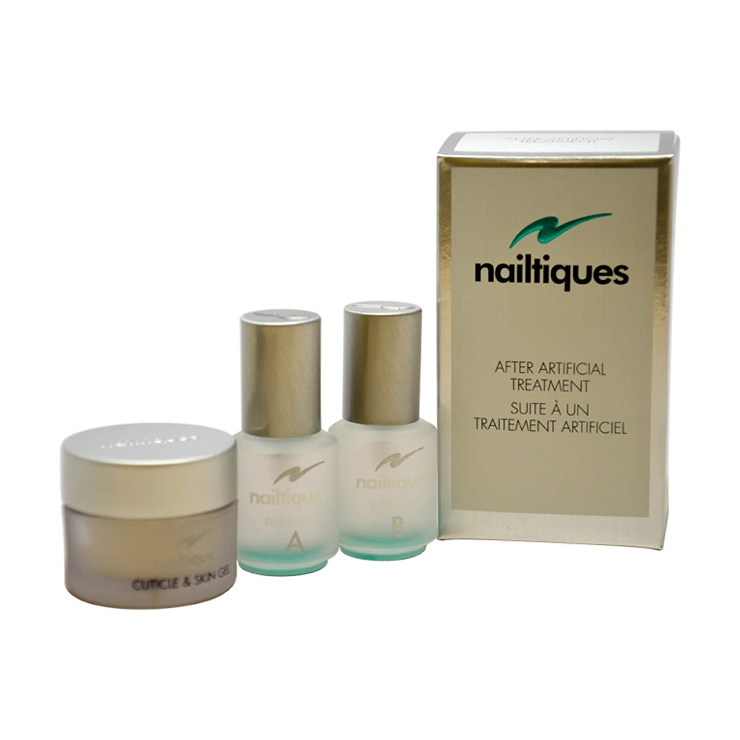 Nailtiques After Artificial Treatment Kit total Free shipping weight 4 Max 84% OFF oz 3