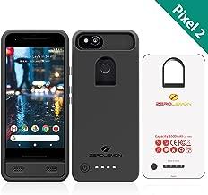 Google Pixel 2 Battery Case, ZeroLemon Ultra Power 6500mAh Extended Battery Case for Google Pixel 2(Not for Google Pixel 2 XL)- Black