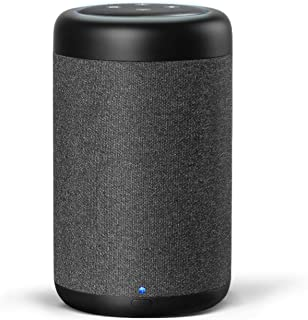 GGMM Dot(第3世代)用スピーカー Dotポータブル 持ち運び可能 バッテリー内蔵 バッテリーベース 7時間再生 充電台 音量拡張スピーカー 全方向360°の音声 D7 ブラック(Dot第3世代が含まず)
