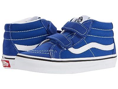 Vans Kids SK8-Mid Reissue V (Little Kid) (Limoges/True White) Boys Shoes