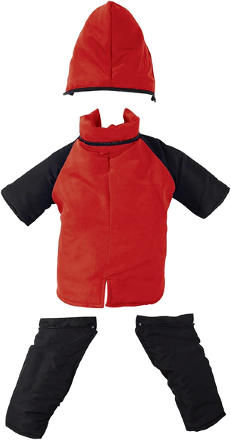 Casual Canine Nylon Dog Snowsuit, Large, 20Inch, Red