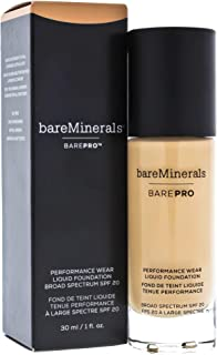 BarePro Performance Wear Liquid Foundation Warm Natural 12