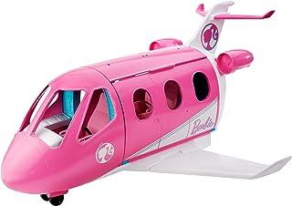 مجموعة اللعب المخصصة للسفر Barbie Dreamplane بميزات عملية وأكثر من 15 قطعة