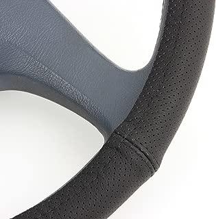 Cubierta de volante para atar en el volante de piel aut/éntica