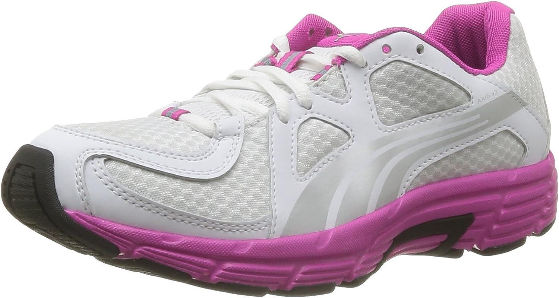 Puma Womens Axis V3 Ladies Trainer White Pink Size UK 6 EU 39
