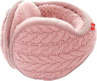 یونیکس گرم گوش گیر کشفی زنانه کشمیر زمستانی خالص رنگ گوش پاک کن خز Earwarmer بسته بندی قابل تنظیم