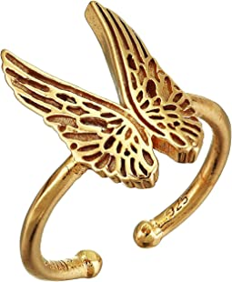 Guardian Angel Statement Adjustable Ring - Precious Metal