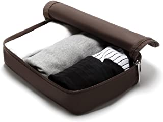 LIGHT FLIGHT Packing Organizer Travel Pouch Sock Storage Bag for Carry on Luggage, Small