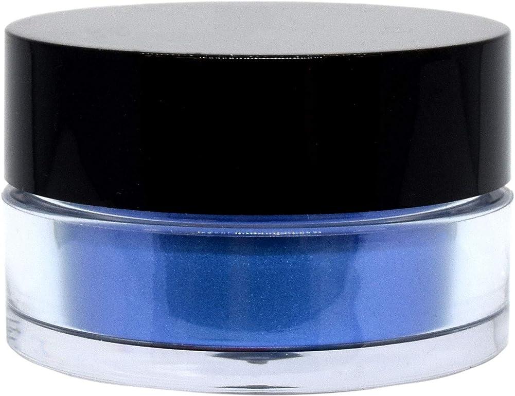 見捨てるシガレットアッパー三善 プチカラー 高発色 アイシャドウ パール col:15 ブルー系