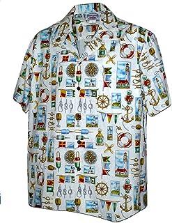 Hajotrawa Mens Short Sleeve Lapel T-Shirt Button Color Block Polo Shirt
