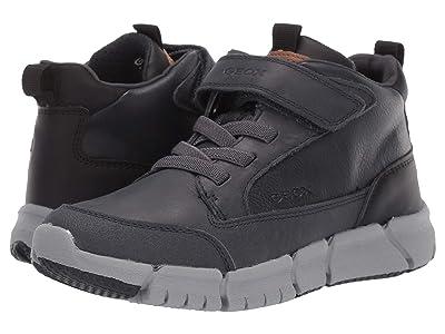 Geox Kids Jr Flexyper 9 (Little Kid/Big Kid) (Navy/Black) Boys Shoes