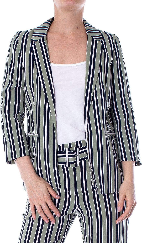 Only Women's 15169211GREEN Green Polyester Blazer