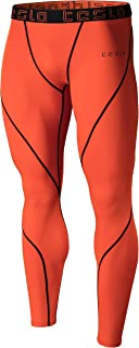 TESLA Men's Compression Pants Baselayer Cool Dry Sports Tights Leggings MUP09 MUP19