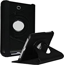 JYtrend Case for Samsung Galaxy Tab 4 7.0, 360 Rotating Stand Cover for Galaxy Tab 4 7-inch SM-T230 SM-T231 SM-T235 SM-T230N SM-T231N SM-T235N (Black)