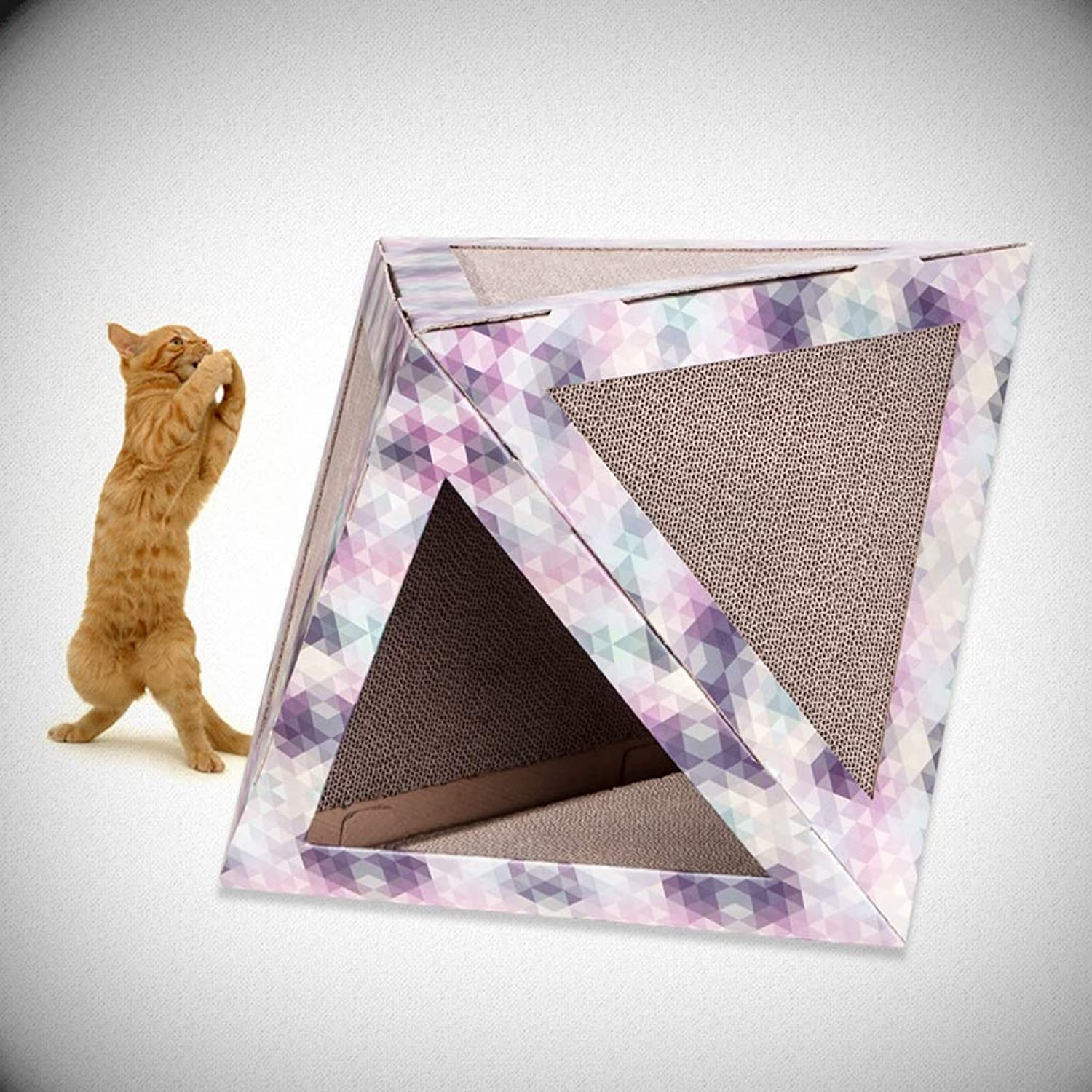 Four Seasons Available Cat Bed Cat Supplies Cat Scratch Board Furniture, Corrugated Material SMBYLL