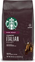 Starbucks Dark Roast Ground Coffee — Italian Roast — 100% Arabica — 1 bag (20 oz.)