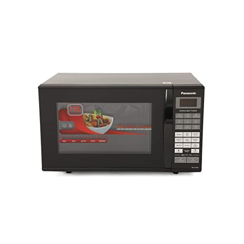 Panasonic 27 L Convection Microwave Oven (NN-CT654M FDG, Silver)