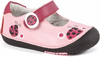 Girls First Walker Toddler Ladybugs Mary Jane Leather Shoes