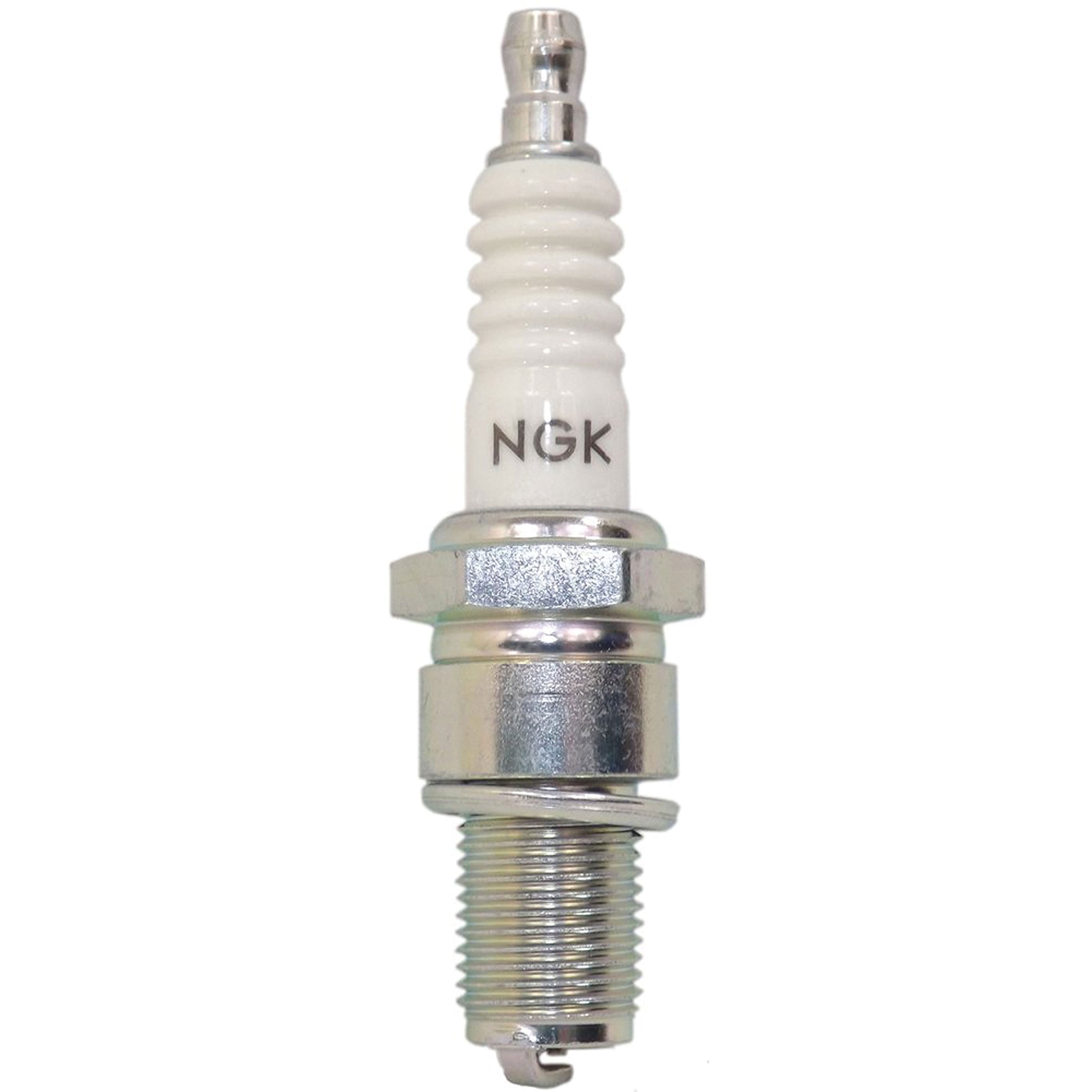 White//chrome NGK BR9ES  5722 Spark Plug