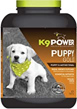 K9 Power - Puppy Gold, Nutritional Supplement for Growing Puppies & Nursing Mothers, Essential Nutrients for Healthy Devel...