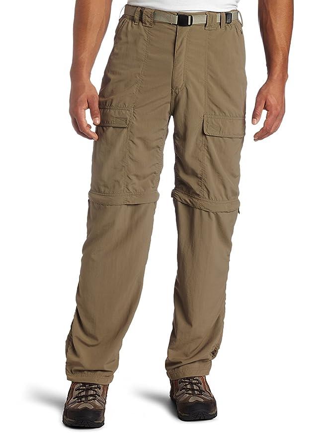 White Sierra Trail 32-Inch Inseam Convertible Pant