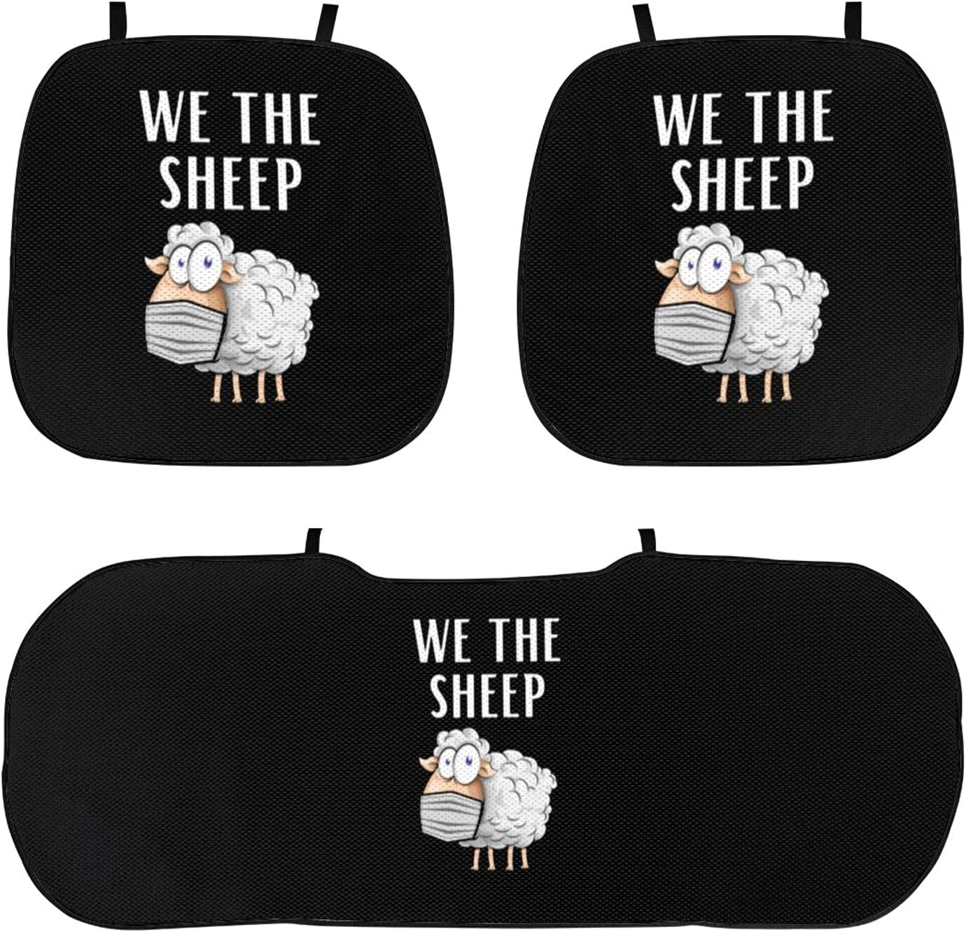 We The Sheeple Car ice Silk Cushion Max 89% OFF Wi Very popular high Exposure Temperature