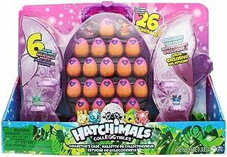 Hatchimals CollEGGtibles Set & Glittery Purple Collectors Case with 2 Exclusive Hatchimals CollEGGtibles & 24 Eggs